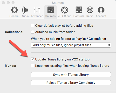 How to dis-associate Vox and iTunes? - MacOS - VOX Community