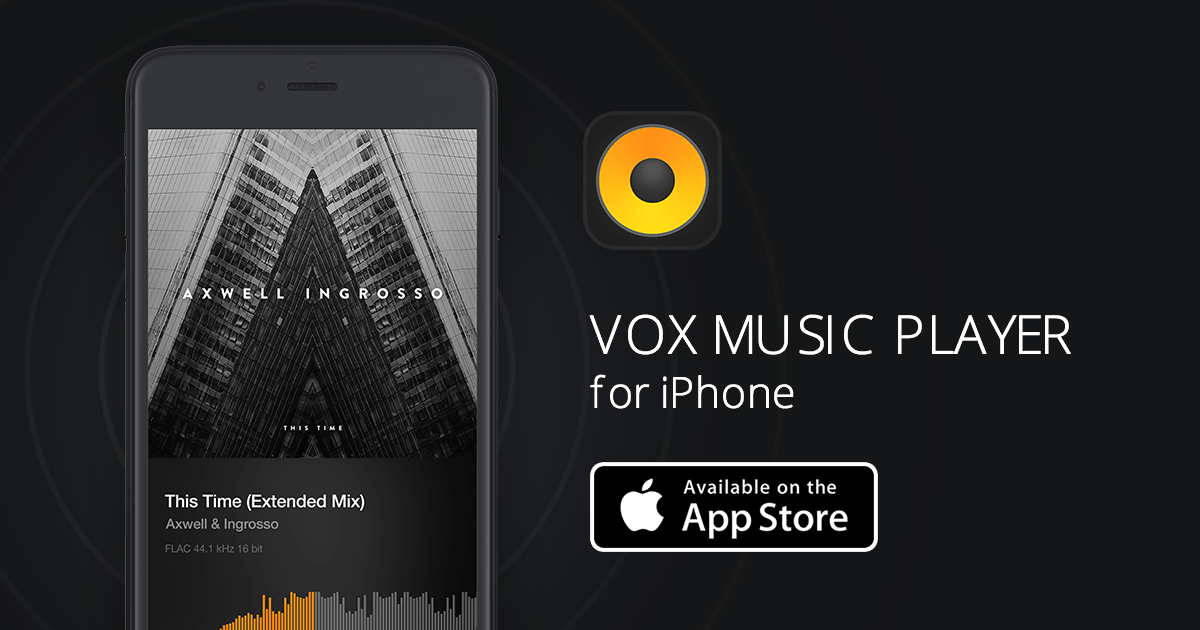 VOX iPhone Music Player - Listen to FLAC, MP3 music, SoundCloud