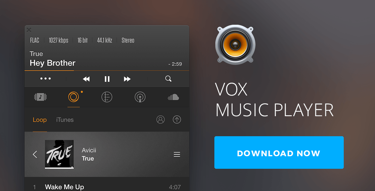 VOX Mac Music Player: Best FLAC Player for Mac  iTunes Alternative